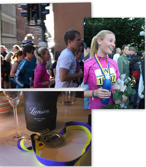 Stockholm halvmarathon, check!