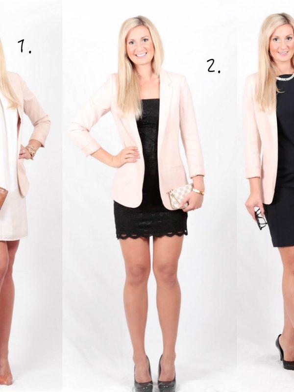 Kolme tapaa pukea beige jakku