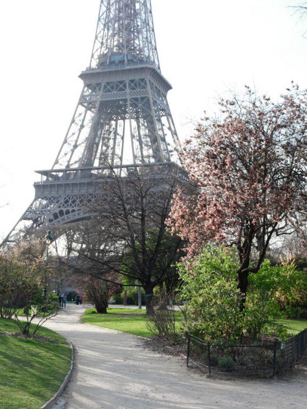 Paris, Tour Eiffel and Canal Saint Martin