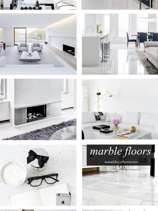 Marble carrara floor inspiration