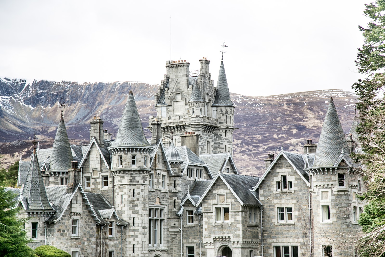 Scotland, fairytale castles of Ardverikie