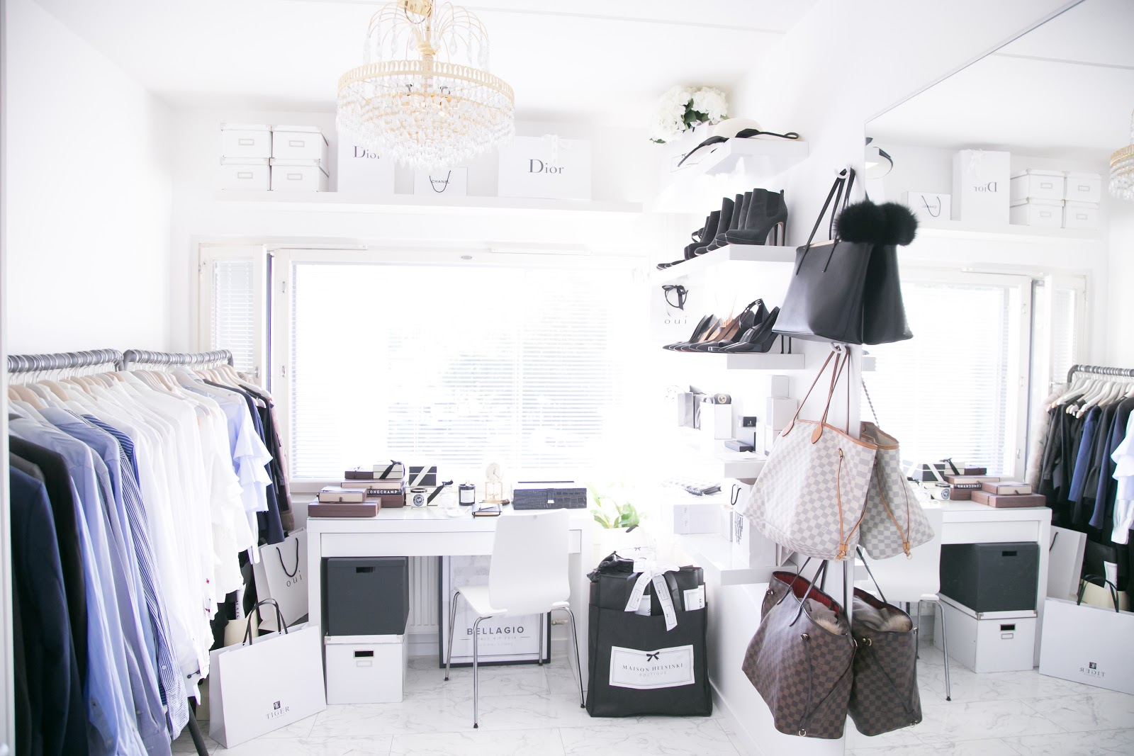 Our Walk-in closet and Home office