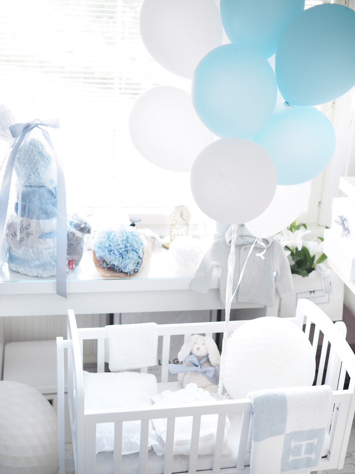 Transformation to baby boy nursery