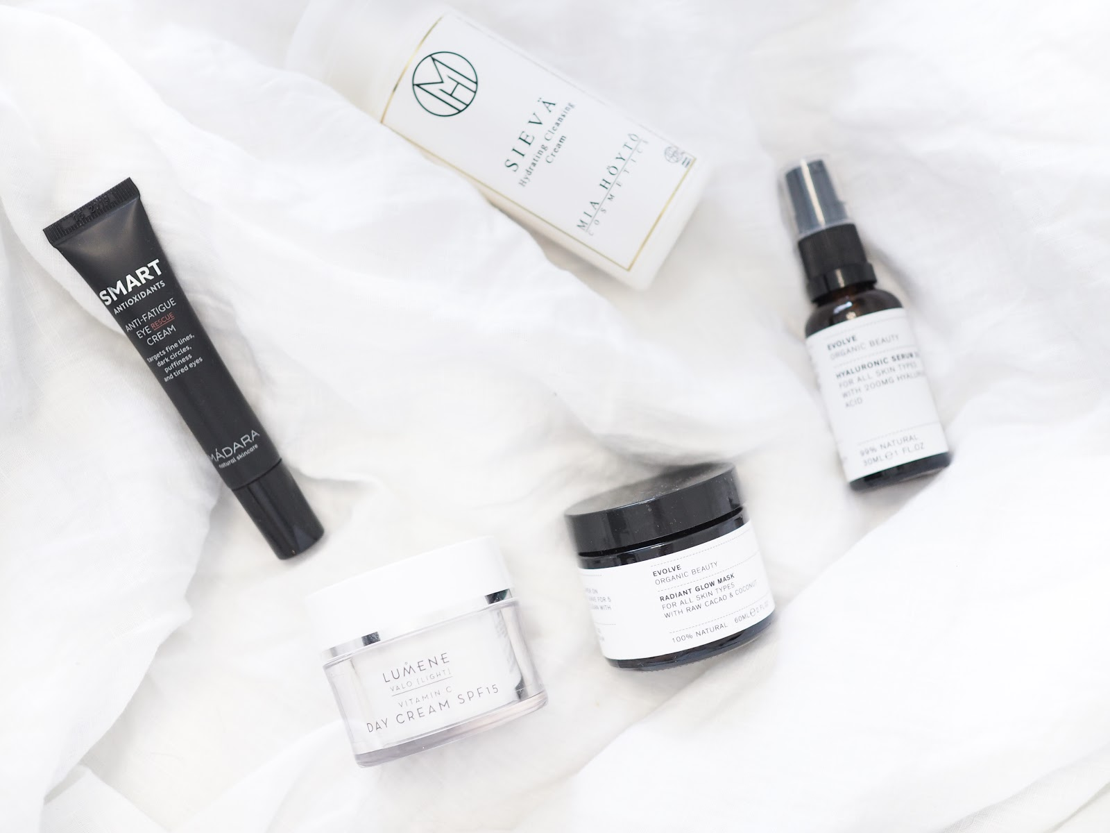 A few skin care favourites