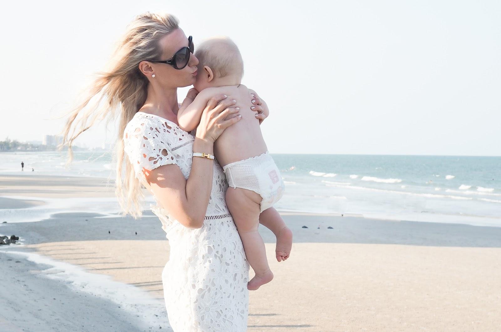Travel with baby: 7-8kk vauvan kanssa matkustaminen