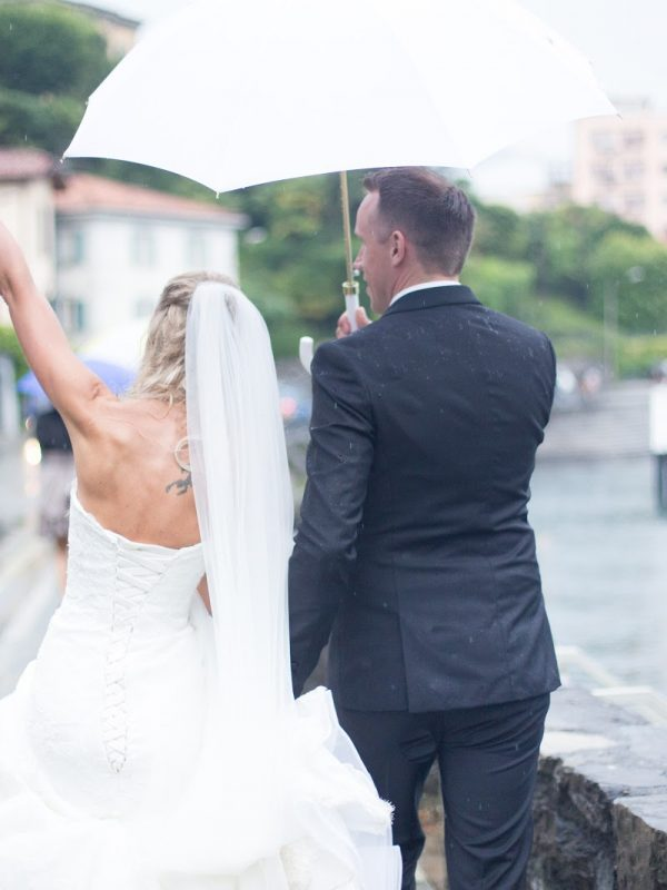 Our wedding in Bellagio, Italy