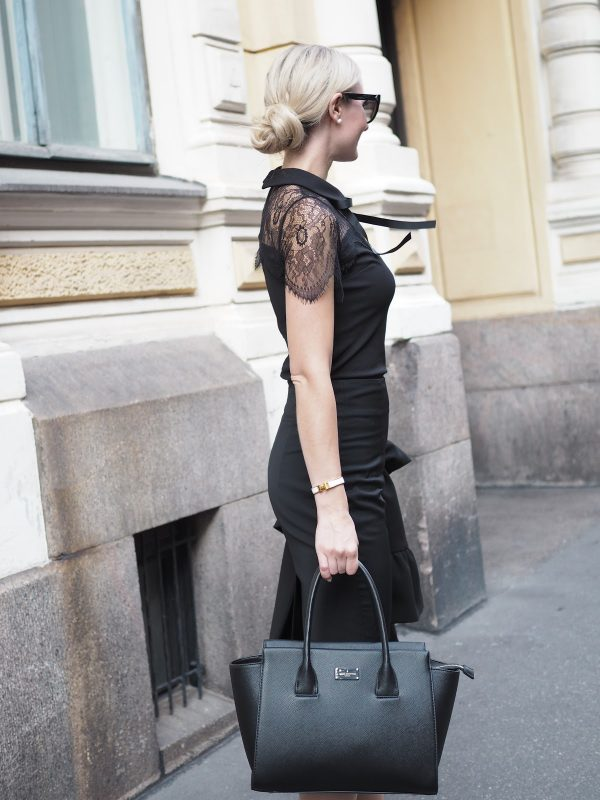 Business outfit – Workwear in black