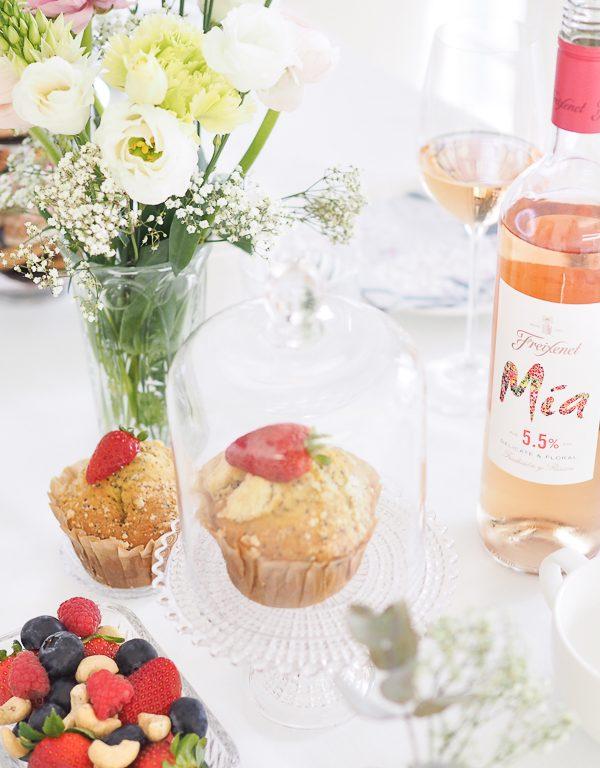 Viinijuomasuositus brunssille ja kevään juhliin