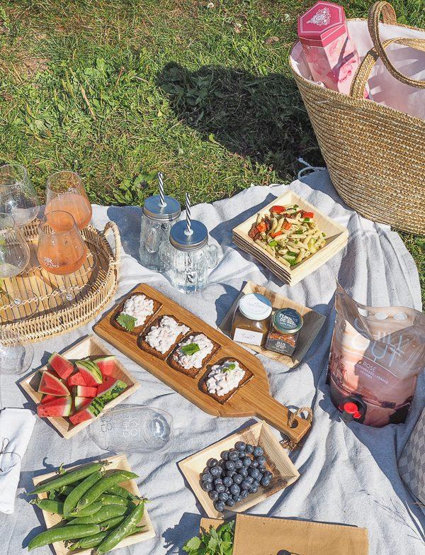 Loppukesän piknik